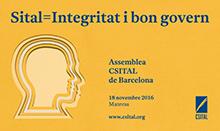 Assemblea 2016 CSITAL Barcelona